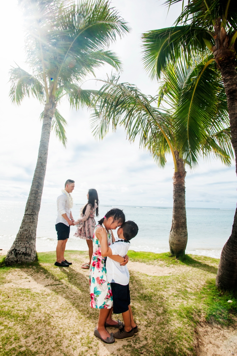 Family photography in Oahu, Hawaii 7