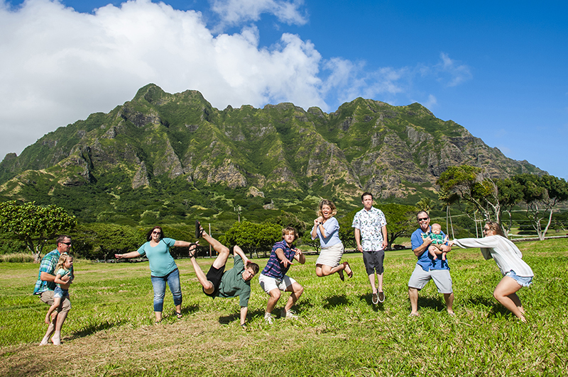 Family photography in Oahu, Hawaii 34
